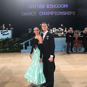 Marcus Mitchell and Tanya Panchenko