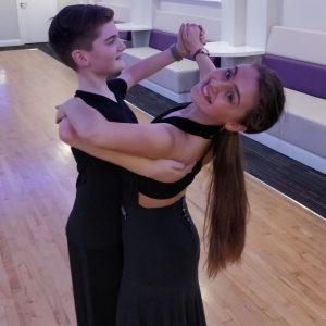 Fergus Woolaway Emily Ranford Junior under14 dance